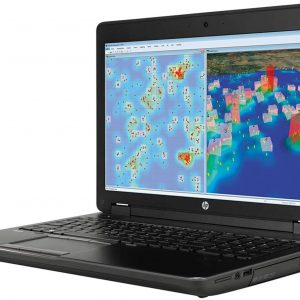 لپ تاپ استوک اروپایی HP ZBook 17 g2 i7 4810mq Nvidia Qudro k3100