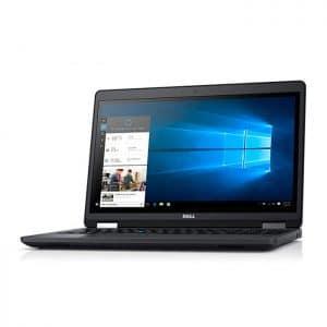 لپ تاپ الترابوک استوک اروپایی دل Dell Latitude E5570 صفحه 15.6 اینچ  پردازنده core i7 6820HQ نسل ششم گرافیک دو گیگ AMD Radeon R7